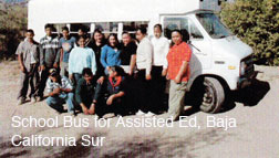 Bus for assisted education, Loreto Baja California Sur